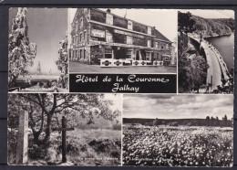 Hotel  De La Couronne JALHAY Carte 5 Vues - Jalhay