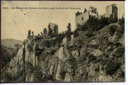 Dpt 43 Carry Les Ruines Du Château, Près Le Pont De L'Enceinte 1913 EV BE - Frankreich