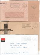 FRANCE '62 ARRAS CT P.P.' 1989/93 4 MARQUES POSTALES Et OBLITERATIONS - Marcophilie (Lettres)