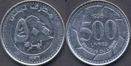 Lebanon 500 Livres 1996 XF - Liban