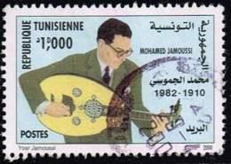 Tunesien 2000, Michel# 1479 O Tunisian Famous Figures - Mohamed Jamoussi - Tunisia