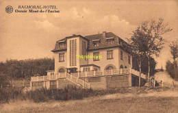 CPA BALMORAL HOTEL ORROIR MONT DE L'ENCLUS - Mont-de-l'Enclus