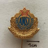 Badge (Pin) ZN002906 - Automobile (Car) Auto Moto Drustvo Polet Vukovar Hrvatska AMSJ - Unclassified