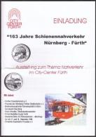 Germany Furth 1998 / Trains, Railway / Exhibition Guide - Programma's