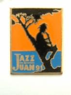 Pin´s JAZZ A JUAN 91 - Music