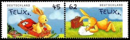 Germany - 2015 - Easter Hare Felix - Mint Stamp Set - [7] Repubblica Federale