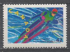 Canada 1992. Scott #1399 (MNH) Winter Olympic Albertville: Ski Jumping - Neufs