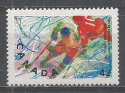 Canada 1992. Scott #1401 (MNH) Winter Olympic Albertville: Ice Hockey - Neufs