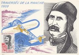 FRANCIA - Cartolina Dedicata Alla Traversata Della Manica - FDC 27/10/1979 - Cartoline Maximum