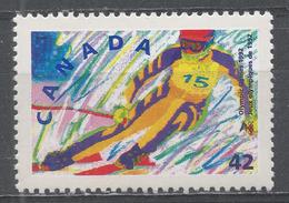Canada 1992. Scott #1403 (MNH) Winter Olympic Albertville: Alpine Skiing - Neufs