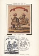 "FRANCIA - Cartolina E Francobollo FDC Dedicati All'opera ""Carrousel Sous Louis XIV"" - FDC 14/01/1978 - Cartoline Maximum"