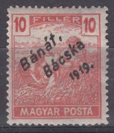 Hungary Banat Bacska 1919 Mi#39 Mint Hinged - Banat-Bacska