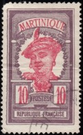 MARTINIQUE - Scott #69 Martinique Woman / Used Stamp - Used Stamps