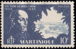 MARTINIQUE - Scott #198 Victor Schoelcher / Used Stamp - Used Stamps