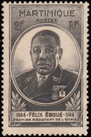 MARTINIQUE - Scott #208 Governor Eboue / Used Stamp - Used Stamps