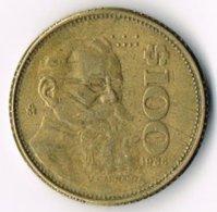 Mexico 1988 100 Pesos Copper-nickel - Mexico