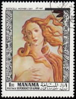 MANAMA - YW1428 Mother Day By Botticelli (*) / Used Stamp - Non Classificati