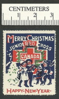 C10-13 CANADA Junior Red Cross 9 Carolers 1925 MHR - Local, Strike, Seals & Cinderellas