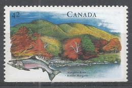 Canada 1992. Scott #1408 (MNH) Canadian Rivers: Margaree - Neufs