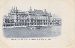 CPA     PARIS  EXPO   1900   VILLE  DE  PARIS   * - 1900 – Paris (France)