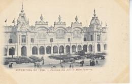 CPA     PARIS  EXPO   1900   PAVILLON  DES  ARTS  ET  MANUFACTURES   * - 1900 – Paris (France)