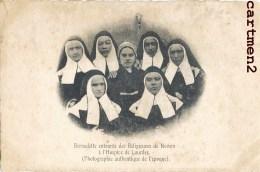 LOURDES BERNADETTE SOUBIROUS ENTOUREE DES RELIGIEUSES DE NEVERS A L'HOSPICE DE LOURES PHOTOGRAPHIE AUTHENTIQUE RELIGION - Lourdes