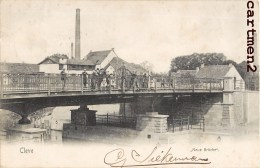 CLEVE CLEVES NEUE BRÜCKE 1900 - Alemania