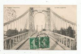 Cp , 16 , TONNAY , Pont , Voyagée 1911 - France