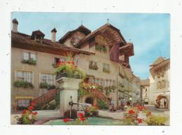 Cp , SUISSE , FRIBOURG , MORAT , MURTEN , Vierge , Ed : Jeanneret Danner , Fleurs - FR Freiburg