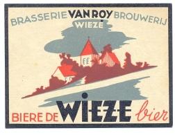 1 Etiquette Ancienne De BIERE - BIERE DE WIEZE (Belgique) - VANROY WIEZE - Bier