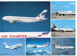 Flotte Utilisée Par AIR CHARTER Filiale D'AIR FRANCE Et D'AIR INTER - 1946-....: Moderne