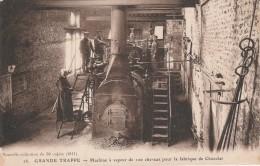 61 - SOLIGNY LA TRAPPE - Grande Trappe Machine à Vapeur De 100 Chevaux Pour La Fabrique Du Chocolat - Sonstige Gemeinden
