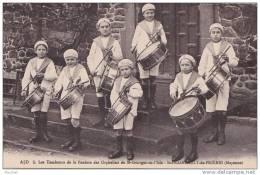 53) Saint Fraimbault De Prières.- (Mayenne) Les Tambours De La Fanfare Des Orphelins De Saint Georges De L´Isle - Unclassified