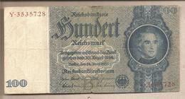 Germania - Banconota Circolata Da 100 Marchi - 1935 - [ 4] 1933-1945 : Troisième Reich