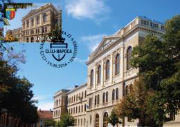 ROMANIA,CITIES, CLUJ-NAPOCA, Maxicard University - Denkmäler