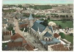 BAUVIN Près Carvin,  L'église Et Le Monument  -  Bon état - Non Classés