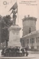 MEHUN SUR YEVRE -18- STATUE DE JEANNE D´ARC ET SA TOUR DE CHARLES VII - Mehun-sur-Yèvre