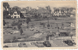 Knokke-Zoute: CITROËN TRACTION AVANT, MERCEDES 180 PONTON, CHRYSLER '48,CHEVROLET '52 - Golf Miniature/Kleine Golf - (B) - Toerisme
