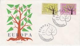 Europa Cept 1962 Luxemburg 2v FDC (F5688H) - 1962