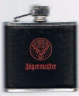 Flasque   8 Cm X 7 Cmx  2 Cm Stainless Steel   3 Oz   Décor Cerf - Autres Bouteilles