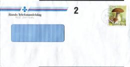 (1645) Aland Bedarfsbrief Aus GODBY Vom 12.09.2003, Pilze - Aland