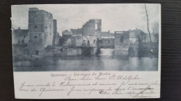 CP Carte Postale Quievrain Les Ruines Du Moulin (1) - Quiévrain