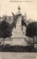 CPA SAINT MANDE - LE MONUMENT - Saint Mande