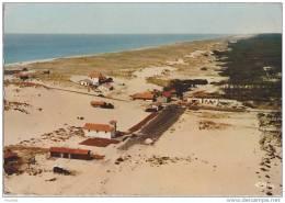 40) Lit Et Mixe Plage.- (Landes) Vue Panoramique Aérienne De La Plage Du Cap De L'Homy - (oblitération De 1971) - France