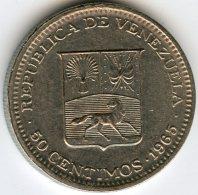 Venezuela 50 Centimos 1965 KM 41 - Venezuela