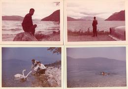 PHOTO 380 - 6 Photos Originales 12,5 X 9 - Le Lac Du BOURGET - Lieux
