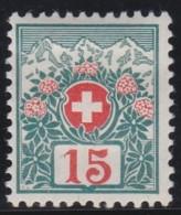 Schweiz          .   Yvert     Taxe  6       .      *        .        Ungebraucht  Mit  Gummi - Strafportzegels