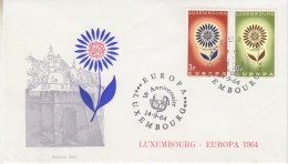 Europa Cept 1964 Luxemburg 2v FDC (F5690B) - Europa-CEPT