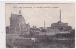 Cappellen (Glabbeek) , Tuileries Et Briqueteries Mecaniques, 2 Scans - Glabbeek-Zuurbemde