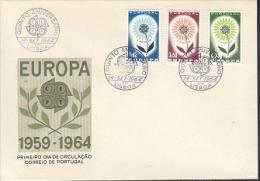 Europa Cept 1964 Portugal 3v  FDC (F5690T) - Europa-CEPT